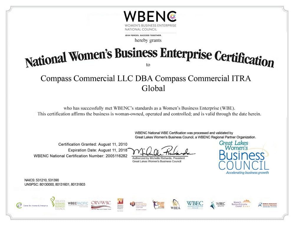 National Women's Business Enterprise