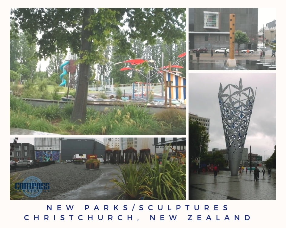 New Parks and Sculptures