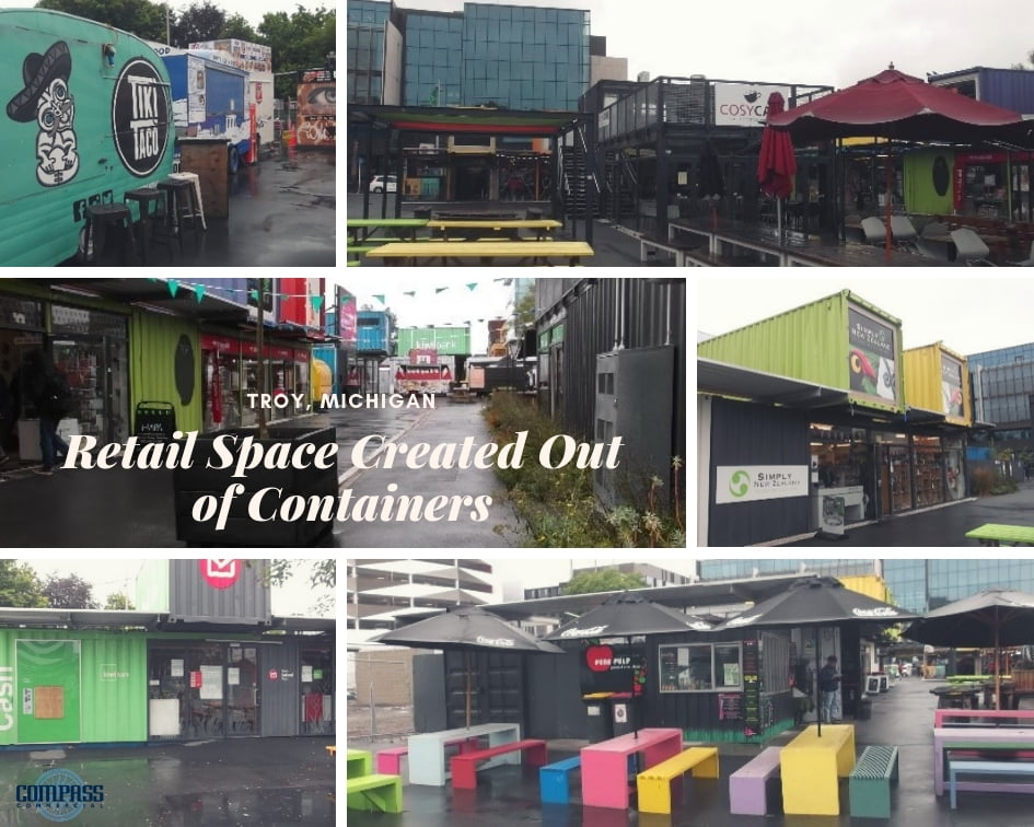 Retail Space Created Out of Containers