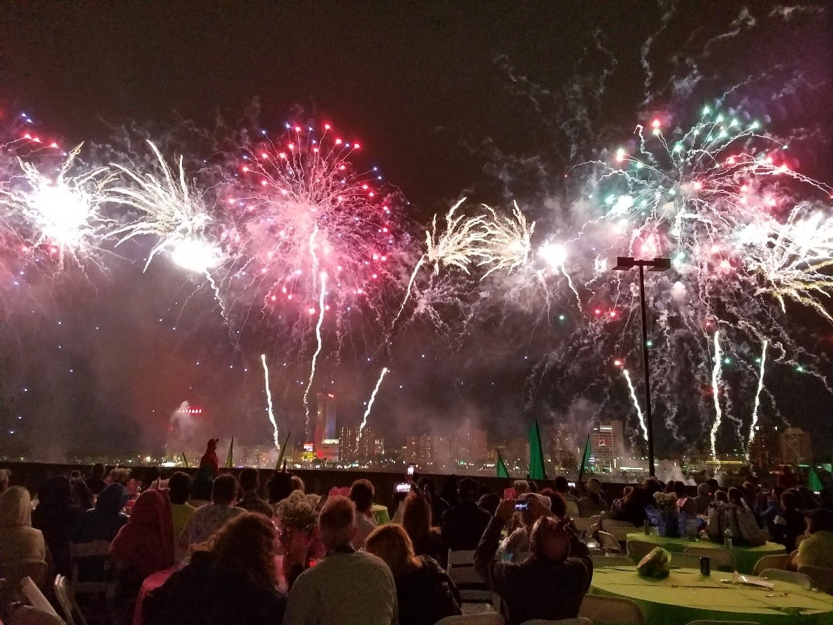 Fireworks Detroit, MI